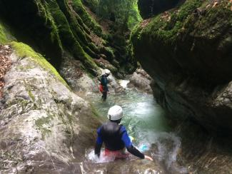 ANGON - Canyoning la Boite aux Lettres