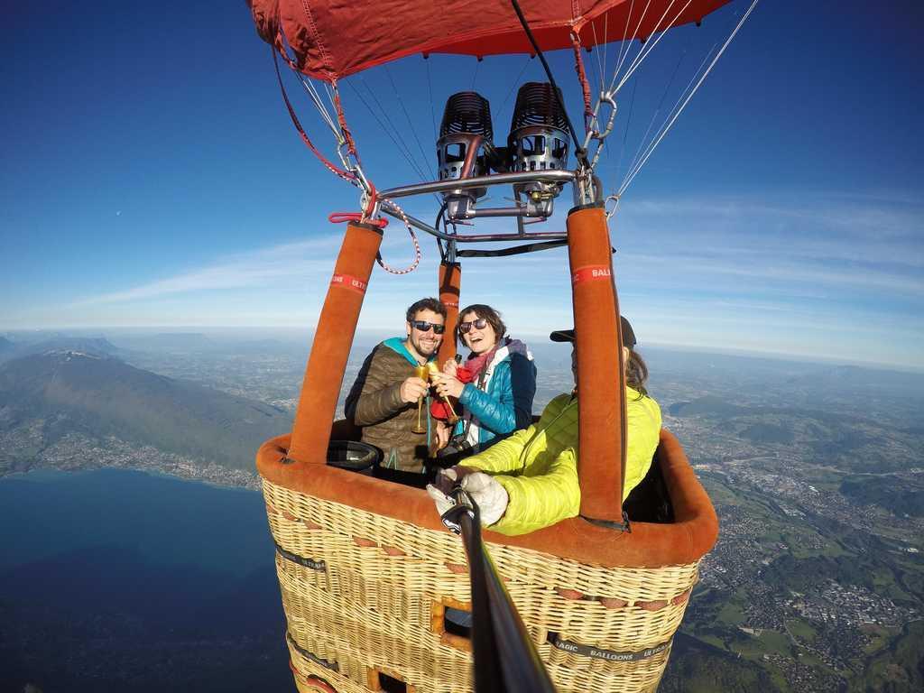 Hot-air balloon Annecy