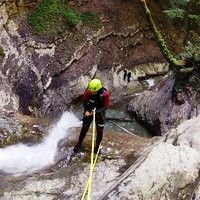 canyoning annecy cascade d'angon
