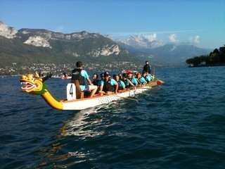 dragon boat séminaire annecy